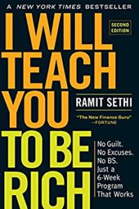 Top investing book: I Will Teach You To Be Rich